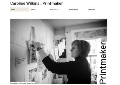 Caroline Wilkins Printmaker & Artist