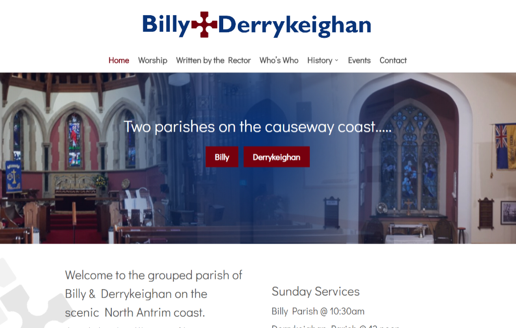 Billy and Derrykeighan Church